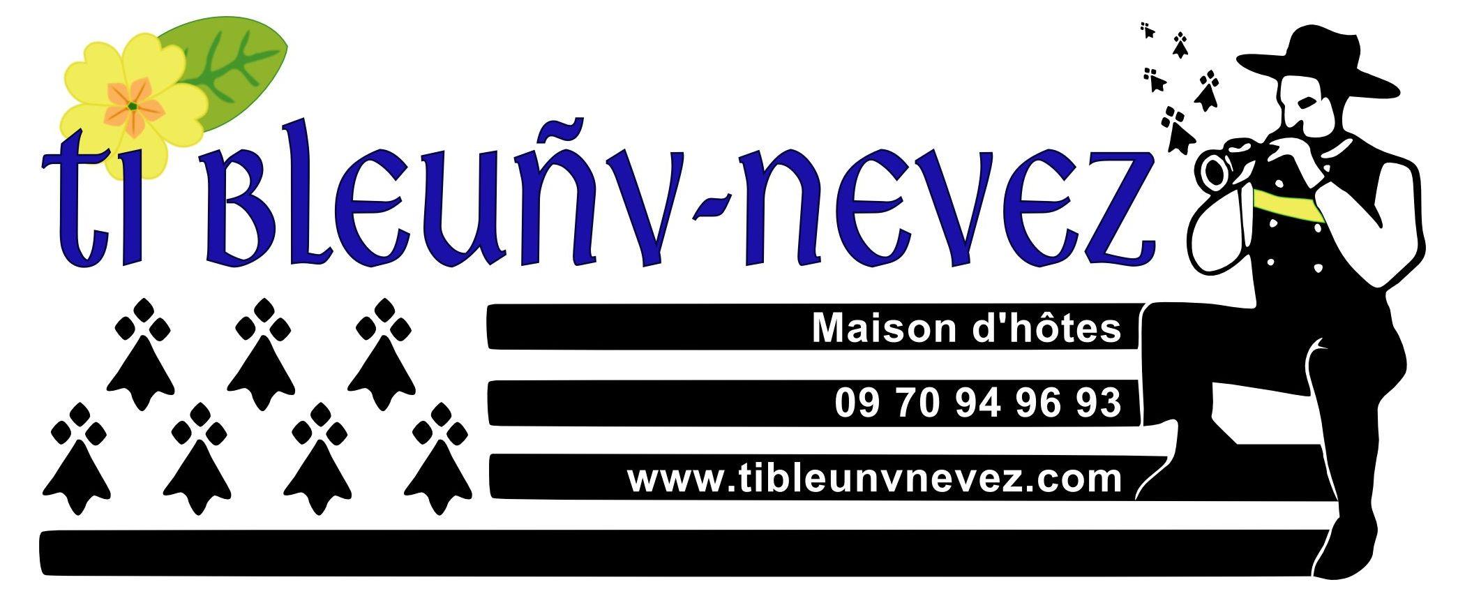 Ti Bleunv-Nevez maison d'hôtes en Finistère Sud