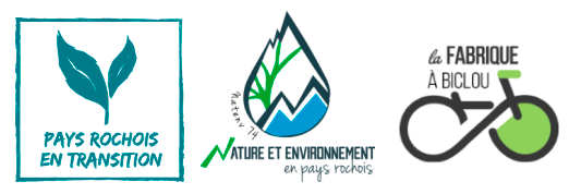 Pays Rochois en Transition, Nature Environnement 74, la Fabrique à Biclou