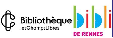 logo bibliothèques de Rennes et bibliothèque des Champs Libres