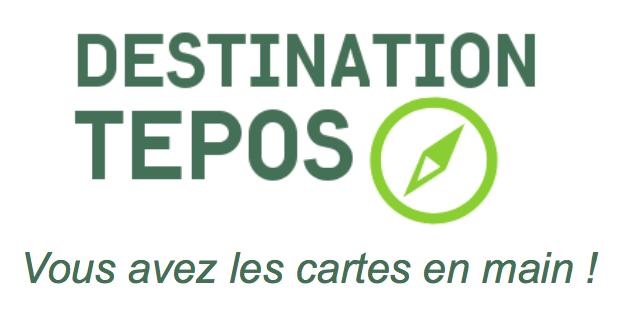Logo et signature Destination TEPOS