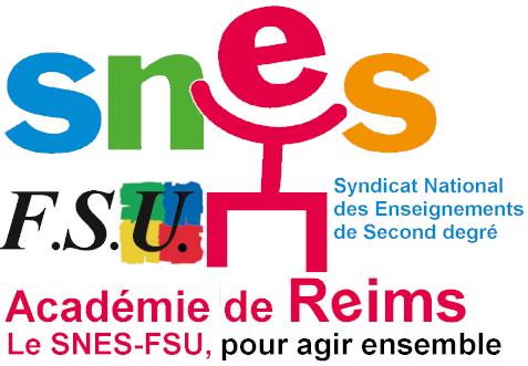 Logo SNES-FSU Académie de Reims