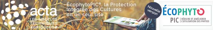Nouveau portail EcophytoPIC