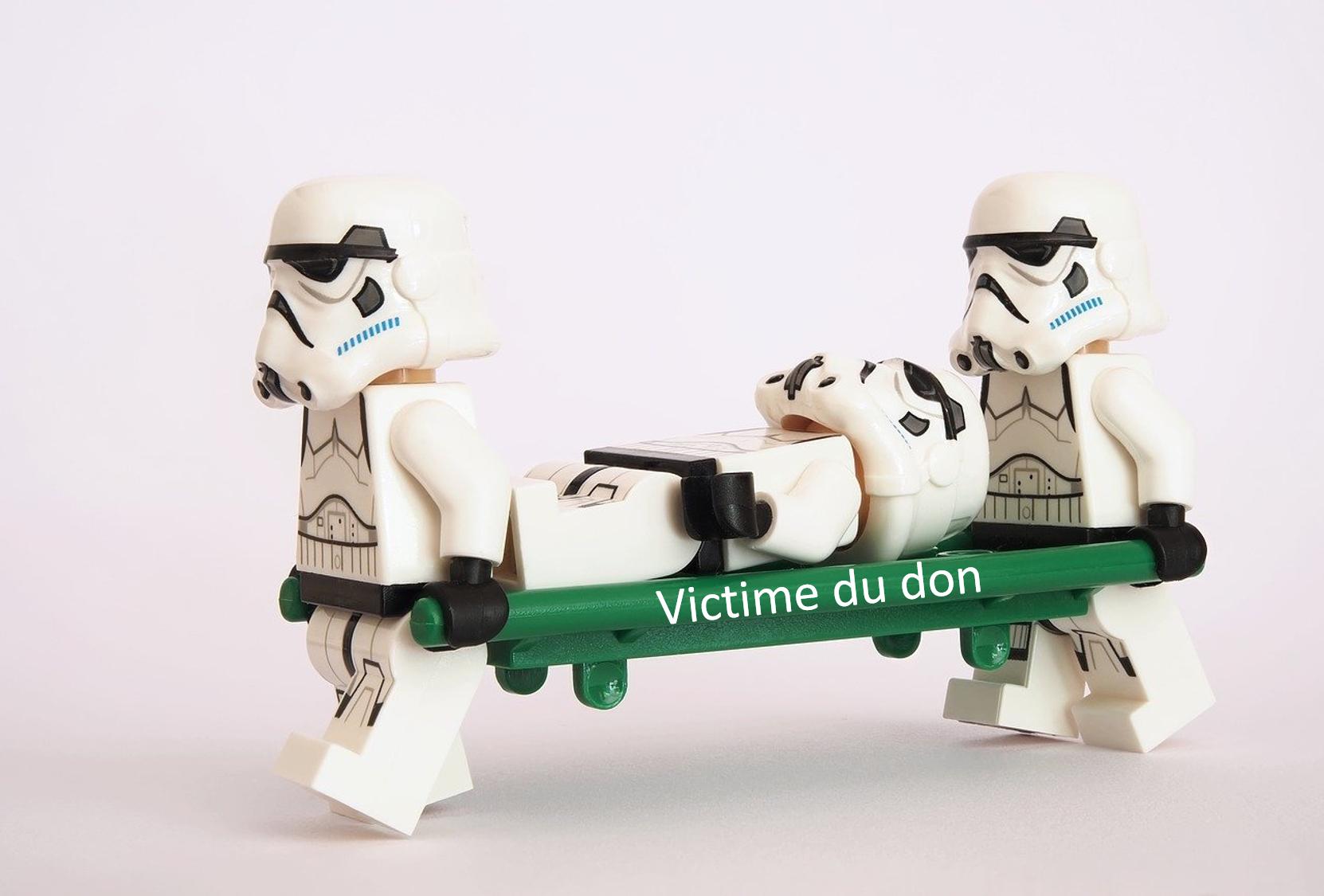 Victime du don
